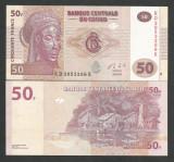 CONGO  50  FRANCI  FRANCS  2013  UNC  [1]  P-97Aa   ,  necirculata