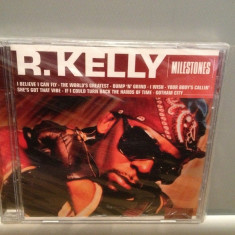 R.KELLY - MILESTONES (2013/SONY-MUSIC) - CD ORIGINAL/Sigilat/Nou