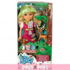 Set Nancy si animalele la lac - FAMOSA - OKAZIE - Papusa Famosa, Plastic, Fata