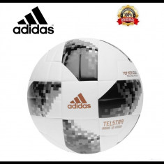 Minge Adidas World Cup 2018 Telstar Top Replica - Originala - Marimea Oficiala 5 - Minge fotbal Adidas, Marime: 5
