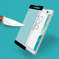 Folie sticla Sony XA 1 XA1 XZ Premium XZ 1 Compact curbata full 3D acopera tot - Folie de protectie