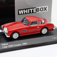 Macheta Talbot Lago 2500 Coupe - 1955 WHITE BOX scara 1:43 - Macheta auto