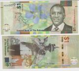 INSULELE BAHAMAS- 1 DOLLAR 2017- NEW- UNC!!
