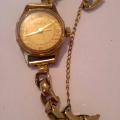 Ceas Orex vechi, 17 rubine, mecanic - Ceas dama, Mecanic-Manual