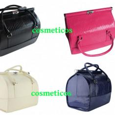 Geanta pentru Cosmetice * Geanta Makeup * Beauty Case/Crocodile Case - Geanta cosmetice