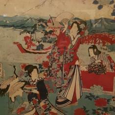 Stampa Japoneza - Hashimoto Sadahide - Arta din Asia