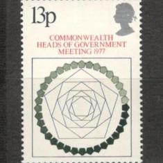 Anglia .1977 Conferinta sefilor de guverne din Commonwealth KZ.537 - Timbre straine, Nestampilat