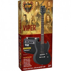 Set chitara electrica ESP LTD Viper Pack
