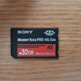 Memory Card Stick PRO Duo HX ProDuo 32GB pentru Sony PSP Camere Foto Video, 32 GB, SDHC