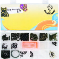 Set Maxi-Carp cu 17 accesorii pentru crap Baracuda