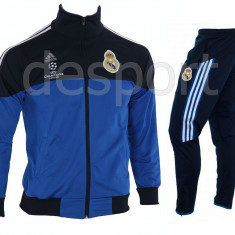 Trening REAL MADRID - Bluza si pantaloni conici - Modele noi - Pret Special 1251 - Trening barbati, Marime: M, L, Culoare: Din imagine
