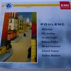 Poulenc - 4 cd - Muzica Clasica emi records