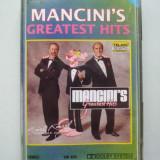 MANCINI'S  ,  GREATEST HITS  ,  CASETA AUDIO !, Casete audio
