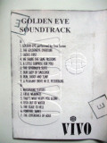 GOLDEN EYE  ,  SOUNDTRACK  ,  CASETA AUDIO !