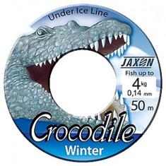 Fir Jaxon Crocodile Winter Rola 50 metri  0,14mm Pescuit la copca ZJ-CRW014D