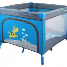 Tarc de joaca Baby Mix pentru copii Lively Horse Blue, Albastru