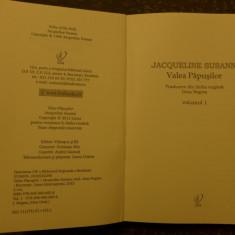 Valea papusilor  de Jacqueline Susann  Ed.  Lira   2012 vol. 1,2