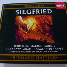 Wagner - Siegfried - Muzica Opera emi records, CD