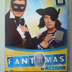 DVD , FILM , FANTOMAS IN ACTIUNE