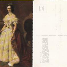 Casa regala - Imparateasa Elisabeta Sissi-Austria-tema regalitate, Necirculata, Printata