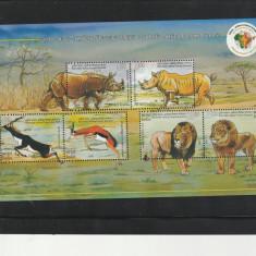 Fauna, animale comune India, Africa. - Timbre straine, Nestampilat