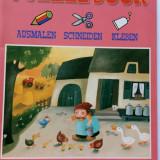 Carte de colorat Puzzle Book - germană