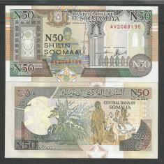 SOMALIA  50  SHILIN  1991  UNC   [1]  P-R 2a.1  ,  necirculata