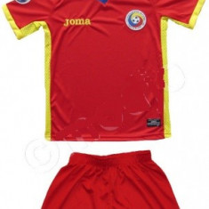Compleu copii ROMANIA - Echipament fotbal Adidas, Marime: YXXL, YXL, YL, YM, YS, YXS, Set echipament fotbal