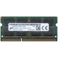 Memorie laptop Micron SODIMM 8Gb DDR3 1866Mhz PC3L-14900S, model MT16KTF1G64HZ - Memorie RAM laptop