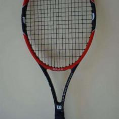 Wilson Pro Staff 97 ULS, maner 2, 270grame corzi 18x16 - Racheta tenis de camp