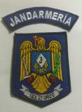 Emblema brodata  maneca de colecție