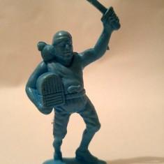 Figurina pirat plastic albastru, 7.5cm