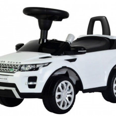 Vehicul pentru copii Range Rover Deluxe White Baby Mix, Alb