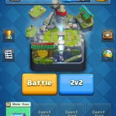Cont clash royale arena 10 si 4 legendare