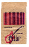 Plic de tutungerie pentru tigari cu reclama GITAR,PALMA