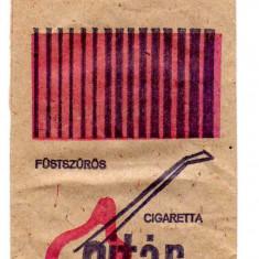 Plic de tutungerie pentru tigari cu reclama GITAR, PALMA