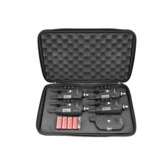 Set 4 avertizoare wireless TLI28 + receptor Baracuda - Avertizor pescuit Baracuda, Hanger
