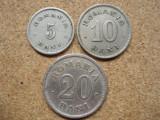 ROMANIA -   Set 20 bani + 10 bani + 5 bani 1900, Carol I, L 5.61