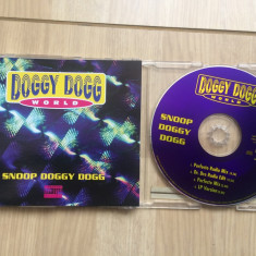 Snoop Doggy Dogg Doggy World sinlge cd disc muzica hip hop gangsta ed vest 1994