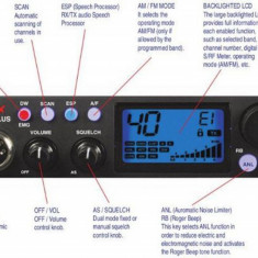 Intek M799 statie radio CB mobila