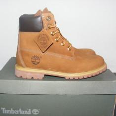 Ghete Timberland 6-Inch Premium Waterproof Boots 10360 nr. 40 - Ghete barbati Timberland, Culoare: Din imagine, Piele intoarsa