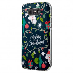 Husa Silicon, Ultra Slim 0.3MM, Merry Christmas, LG G5