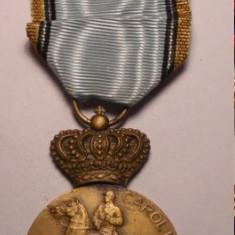Medalia Centenarul Regelui Carol I 1839 1939 cu Bareta Pro Patria - Ordin