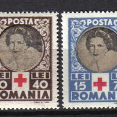 RRR CRUCEA ROSIE LP.165 MNH LUX - Timbre Romania, Nestampilat