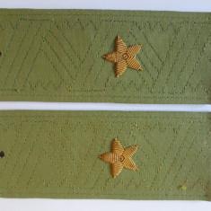 Epoleti pentru camasa General-Maior armata rosie Sovietica/URSS din anii 80