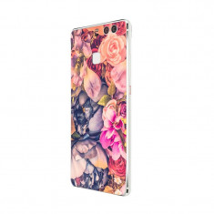 Husa Silicon, Ultra Slim 0.3MM, Floral, Huawei Mate 9