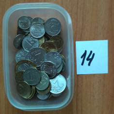Rusia 100 monede 1961-2017 de la 1 copeica pana 10 ruble ( 14 ), Europa, Cupru-Nichel