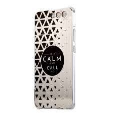 Husa Silicon, Ultra Slim 0.3MM, Keep Calm, Huawei HONOR 9 - Husa Telefon