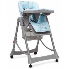 Scaunul De Masa Pentru Copii Cangaroo Cookie Albastru - Masuta/scaun copii