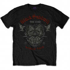 Tricou Black Sabbath - The End Reading Skull - Tricou barbati, Marime: L